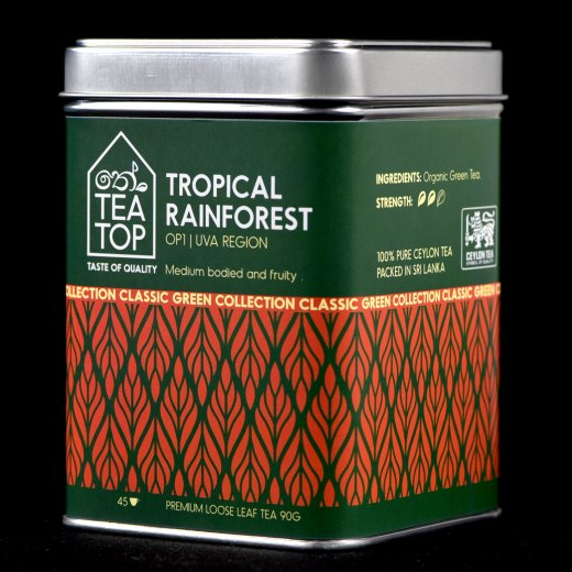 Tropical Rainforest Organic Green Tea