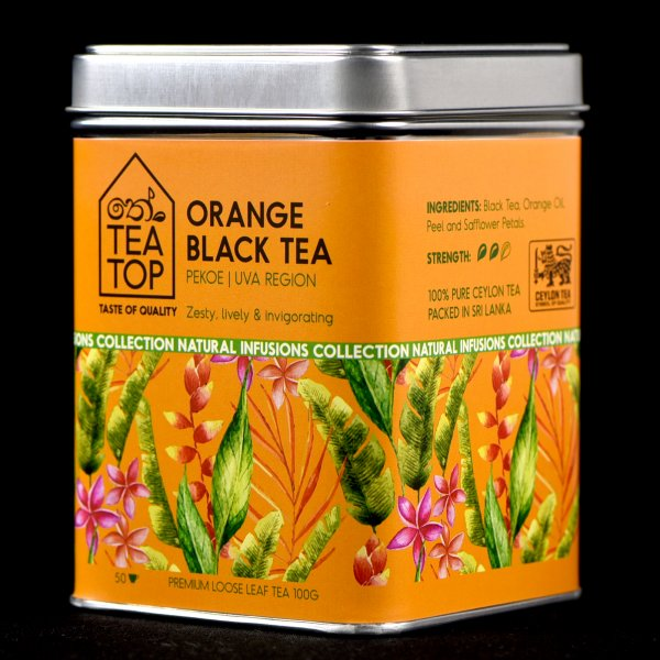 Orange Tea PEKOE pure Ceylon Tea thumbnail